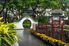 Hollywood Road park in Central Hong Kong, China, Asia.