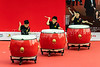The Hong Kong Synergy 24 Drum Competition  outdoors in Kowloon, Hong Kong, China, Asia.