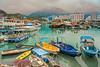 The fishing village of Lei Yu Mun in Kowloon, Hong Kong, China, Asia.