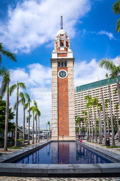 The Clock Tower in Tsim Sha Tsui, Kowloon, Hong Kong, China, Asia.