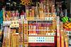 Incense for sale at a shop near the Po Lin Monastery on Lantau Island, Hong Kong, China, Asia.