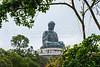 The Big Budda and the Po Lin Monastery on Lantau Island, Hong Kong, China, Asia.
