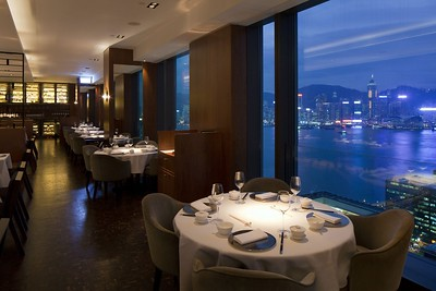 'Above and Beyond' - the fantastic restaurant on the 28th floor