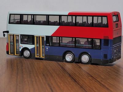 80M 38703 MTR Dennis Trident 10.6m ALX500 Blue/Red/White livery
