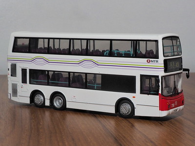 80M 38705 MTR Dennis Trident 10.6m ALX500 NW Territories livery