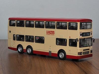 80M 80882 KMB Dennis Dragon 11m Duple Metsec 'Bye Bye Hot Dog Bus'