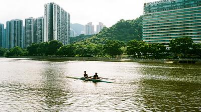 沙田城門 河 Shing  Mun River