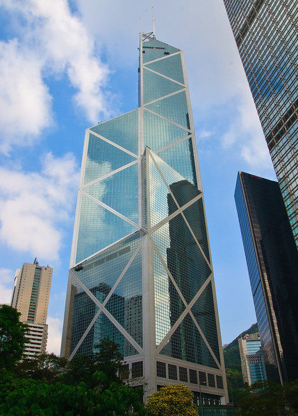 Bank of China Tower in Central