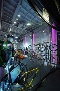 The World's funkiest bike shop. Queen's Road Central, HK.