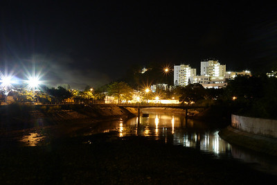 Mui Wo Public Housing, Lantau Island. 1 Minute exposure.