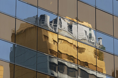 Central reflections, HK.