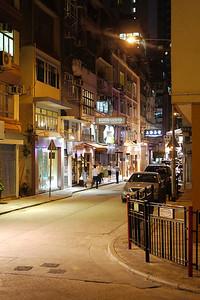 Trendy Gough Street, Central, HK.