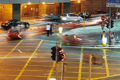Traffic under the IFC.