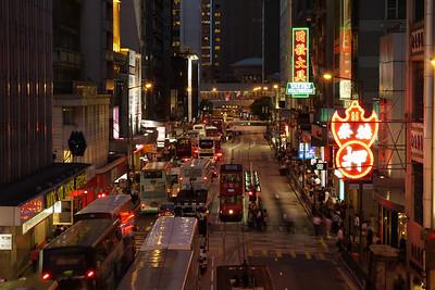 Des Voeux Road Central, HK.