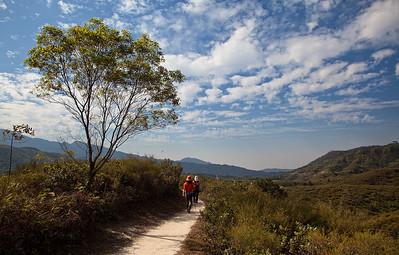 Hiking from Luk Kan to Wu Gao Tan, NT, Hong Kong