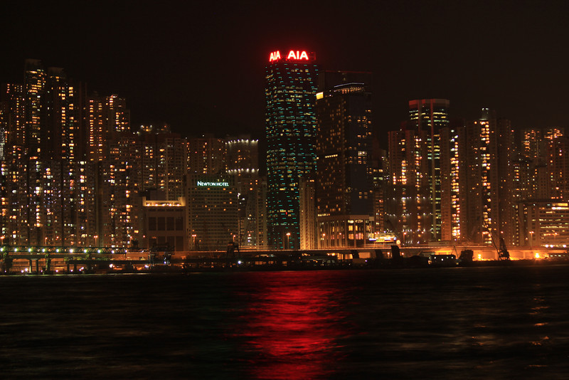 Causeway Bay Skyline, Hong Kong Island