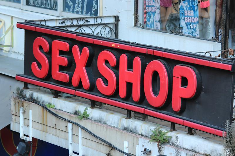 Sex Shop Sign, Kowloon, Hong Kong