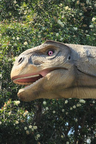 Dinosaur we ran into at the Park, Kowloon, Hong Kong