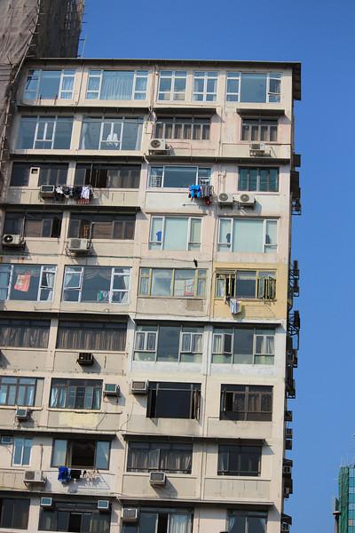 Typical Kowloon Apartment Building, Hong Kong