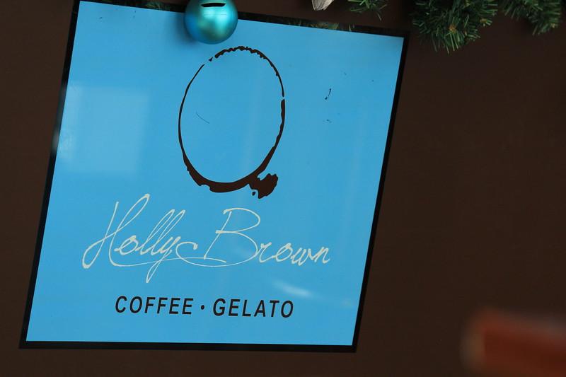 Holly Brown Coffee Shop Logo, Kowloon, Hong Kong