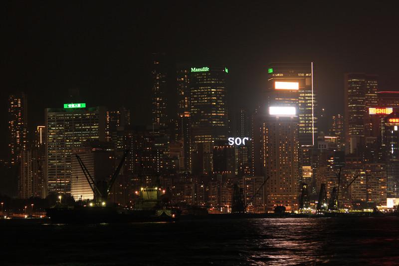 Kowloon Bay Night View, Hong Kong