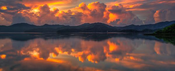 Sunrise over Luk Kang