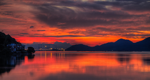 Luk Kang just before sunrise