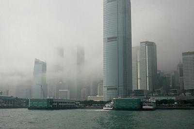 Central HK in Fog