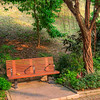 Bench in Shing Mun Valley Park.