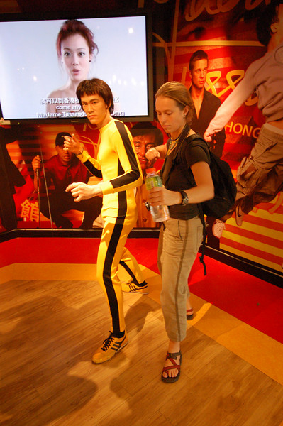 Bruce Lee and Emilie duo.
