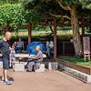 Working Out in Nan Lian Garden