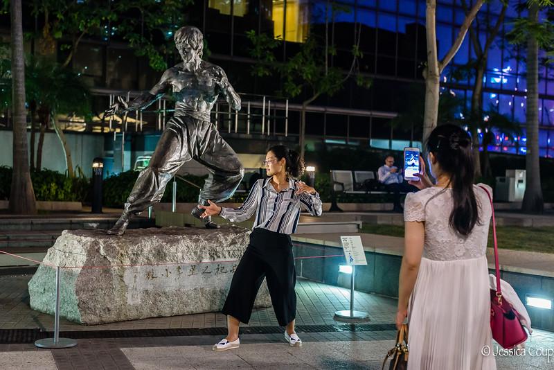 Bruce Lee Impression