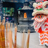 Dragon Dance at Wong Tai Sin Temple