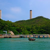 The chimney stacks are part of the Power Station at Po Lo Tsui