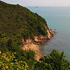 View along the trail from Yung Shue Wan to Suk Kwu Wan