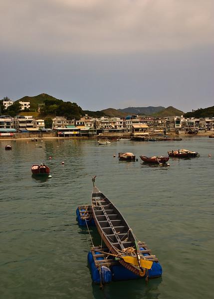 Boats at Yung Shue Wan