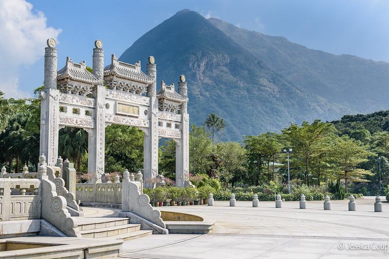 Mountains of Lantau Island
