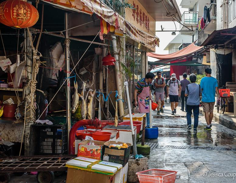 Streets of Tai O