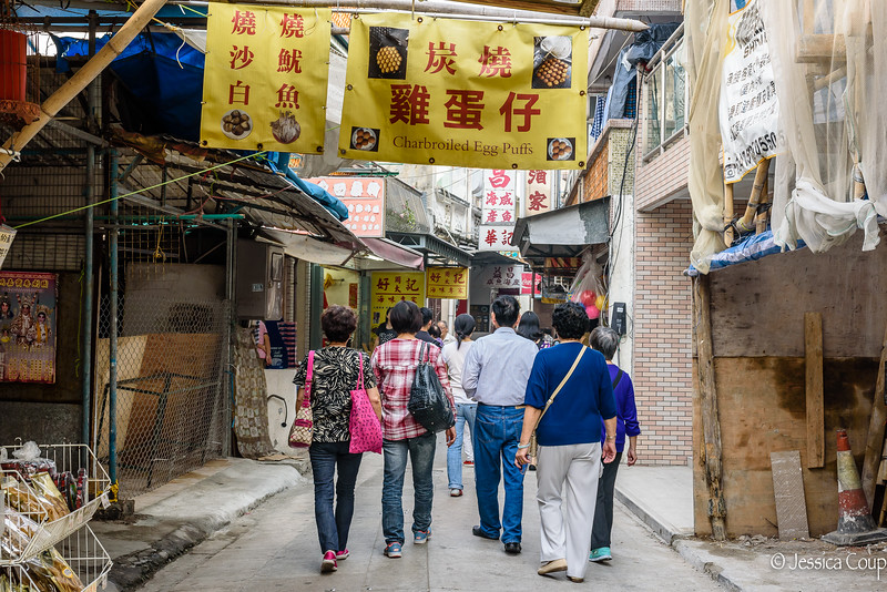 Walking the Streets of Tai O