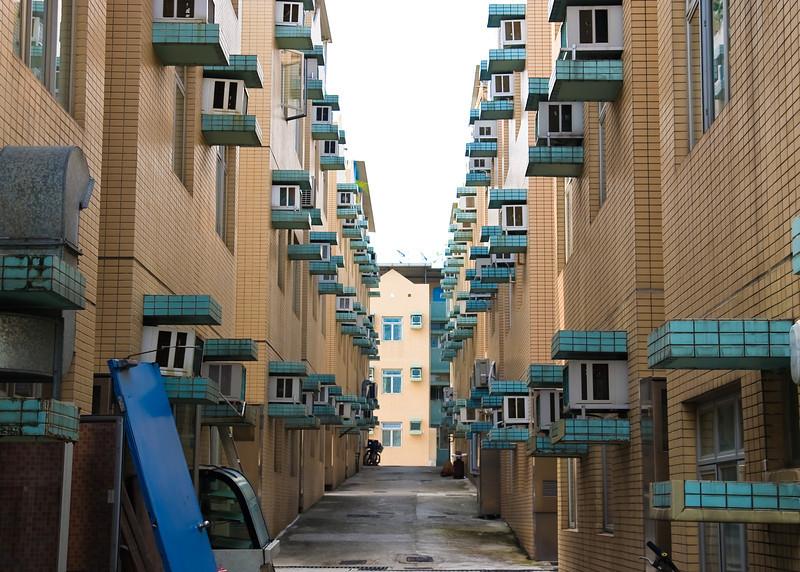 Residences in Ma Wan