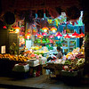 Late night at a fruit store in Wan Chai
