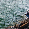 Fisherman in Tuen Mun