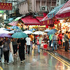 Shopping on a rainy day in Causeway Bay