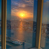 Sunset as reflect over Sky100
