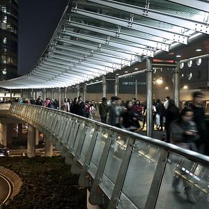 IFC, Link Bridge, Hong Kong.