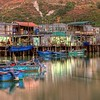 Evening at the fishing village, Tai O, Lantau Island, Hong Kong