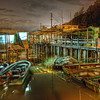 Last shot of the day at Tai O fishing village, Lantau Island, Hong Kong.