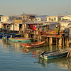Late afternoon at Tai O Fishing Village, Lantau island, Hong Kong
