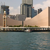 The Hong Kong Cultural Center and KCR Clock Tower.