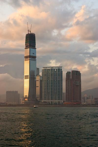 International Commerce Center on the Kowloon Peninsula